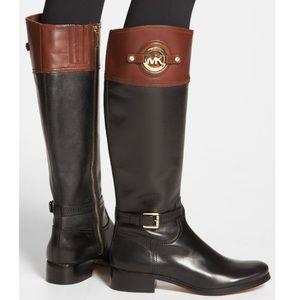 Michael Kors Stockard Tall Leather Boots